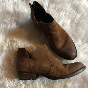 Born Leather Booties